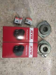 Myvi front absorber mounting, stopper & stabilizer