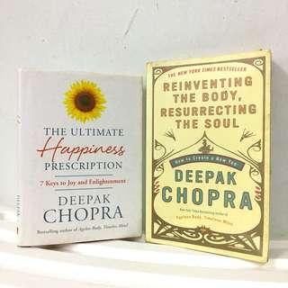 Deepak Chopra - The Ultimate Happiness Prescription: 7 Keys to Joy and Enlightenment & Reinventing the Body, Resurrecting the Soul: How to Create a New You