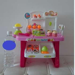 Kitchen Cashier Toy Set (mint condition)