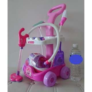 Cleaning Vacuum Toy Set (mint condition)