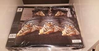 King size bedding tiger