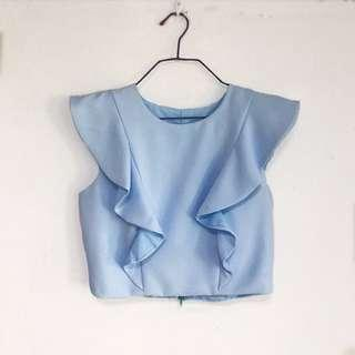 Ruffles Sleeveless Top