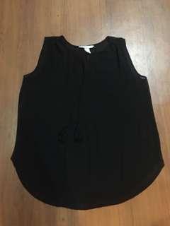 H&M sleeveless mesh top