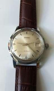 瑞士 Tugaris 上鍊機械錶 21jewels 35mm