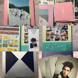 [WTS] SEVENTEEN Boys Be (Seek), Love Letter (Letter) and 17 Carat albums