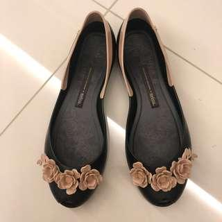 Melissa Flats Alexandre Herchcovitch Flowers Shoe