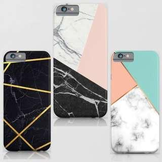Marble printed phone cases! Available in iPhone Xs / max, Xr