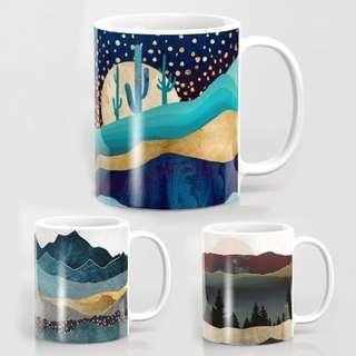 🚚 Printed mugs!