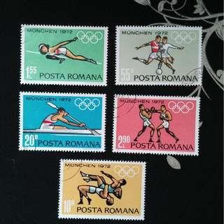 Romania 1972 Olympics