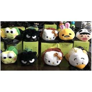 全新 7-11 Sanrio animal carnival Playground 動物系列 (有盒有黑袋) 共9隻