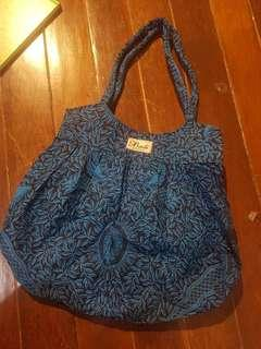 Patterned Bali Beach Bag