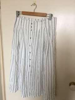 Stripy Maxi Skirt