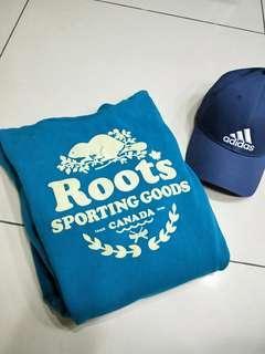 Roots連帽T