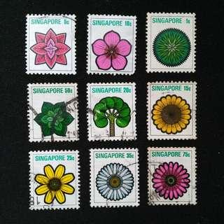 #9 Singapore Flower Set