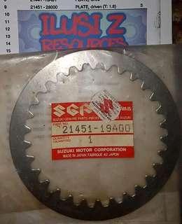 Pressure Clutch Plate (Flat) Suzuki Txr 150 Panther Jerung Gamma