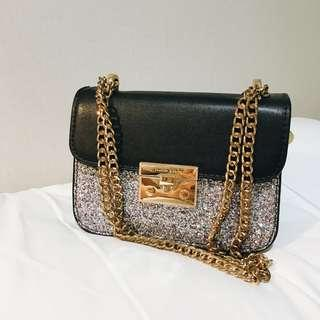 Charles & Keith Glitter Authentic
