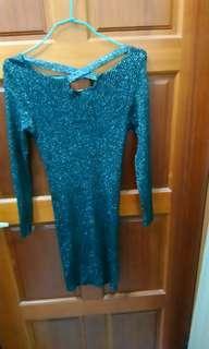 🚚 PSGB金蔥色洋裝