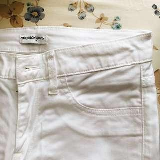 White Jeans Color Box