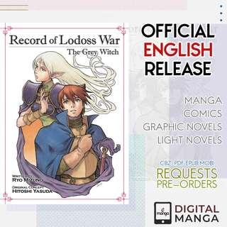 Record of Lodoss War: The Grey Witch (Light Novel)