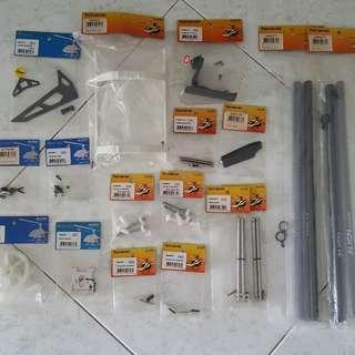 Align trex 450 pro & sport parts for sale