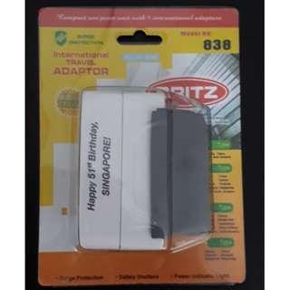 Travel adapter Britz electrical plug