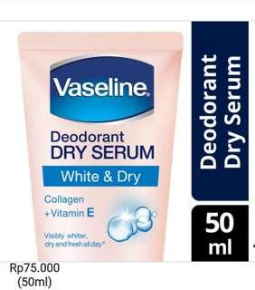 Vaseline Deodorant Dr Serum 50ml