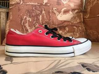 Converse Red All Star W US 6.5