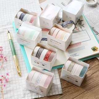 [Pre-order] Set of 5 Washi Tape