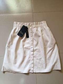 Zara leather skirt!