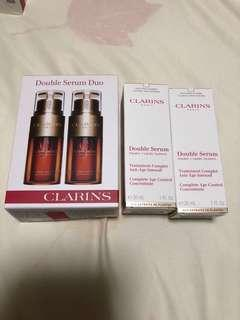 Clarins Double Serum with free gifts!