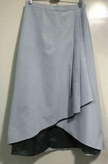 Mimpikita Belle Midi Skirt in Powder Blue