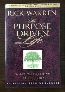 📕 二手 98%新 最暢銷英文書 The Purpose Driven Life