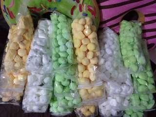 Marshmallows with fillings