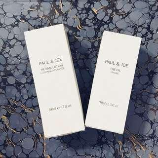 ⚓️🌱Paul & Joe Herbal Lotion + The Oil for Face, new with box