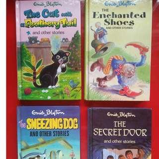 A set of 4 Enid Blyton books