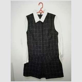 Preppy office dress on sale at 200 only