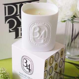 🗼🈹 Diptyque 34 220g Scented Candle brand new