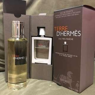 TERRE D'HERMÈS MAN PARFUME REFILLABLE