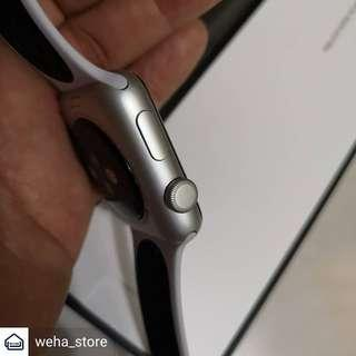 Apple watch series 3 silver nike edition mulus