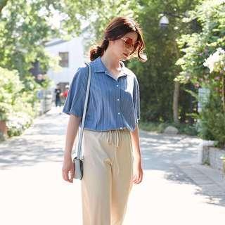 Korean Blue Shirt