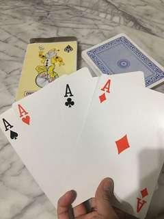 🚚 巨大撲克牌♠️ 趣味 惡搞