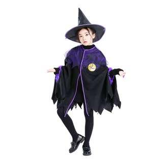 Kids Lovely Witch Costume