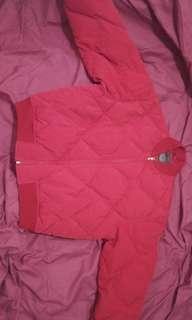 Ralph Lauren Red Puffer Bomber Jacket