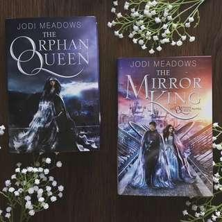 🚚 The Orphan Queen Series Duology Hardcovers