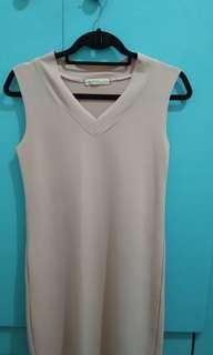 Dress (rose/baby pink, S-M body frame)