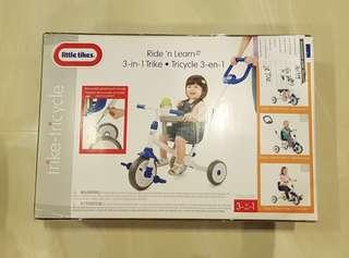 Little Tikes Ride 'n Learn 3-in-1 Trike
