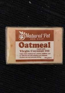 Natural Pet Oatmeal made with VCO soap
