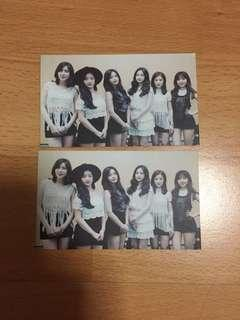 apink unofficial photocards