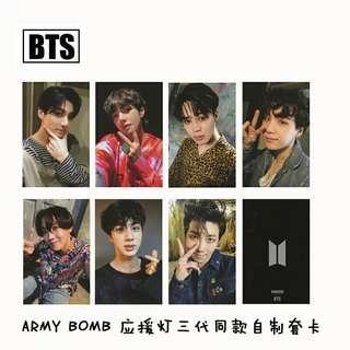 [ PO ] BTS ARMY BOMB PHOTOCARDS SET