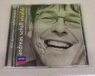 Andreas Scholl - Vivaldi **Autographed